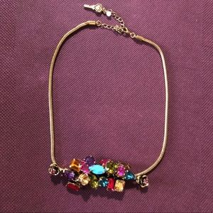 Betsey Johnson gold necklace